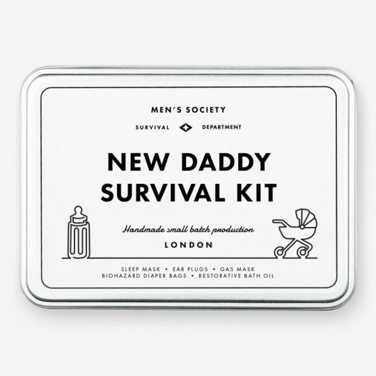 New Daddy Survival Kit Box