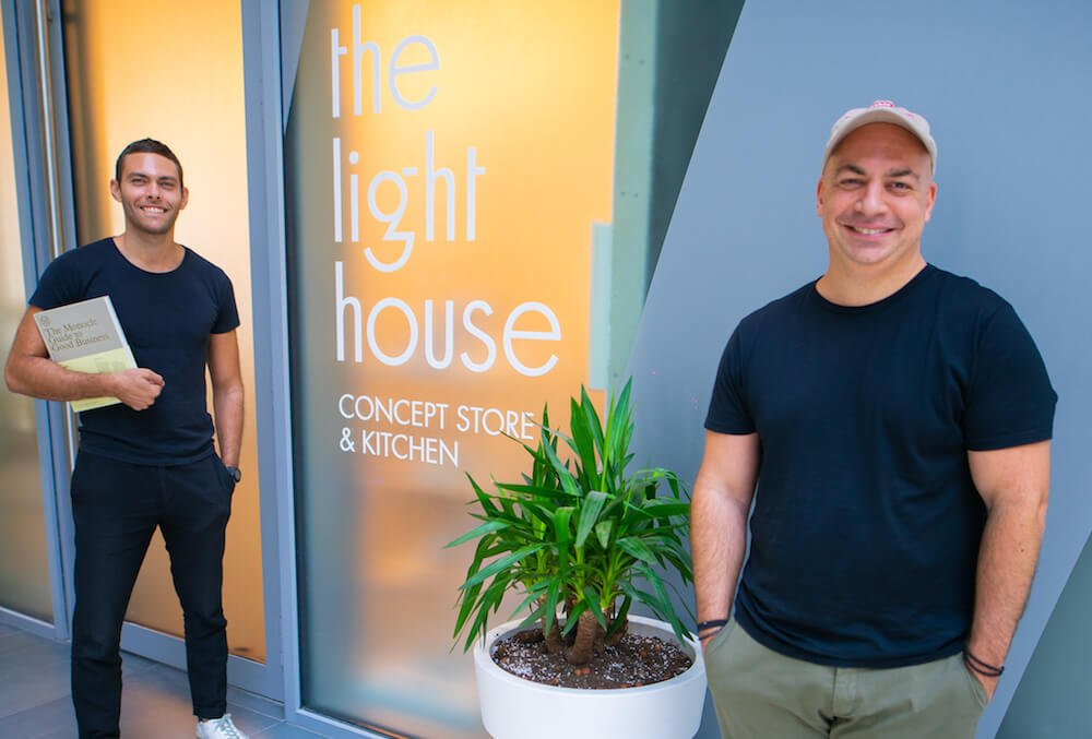 the lighthouse concept store and kitchen founders dubai
